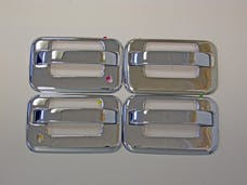 TFP 407 Truck & SUV Door Handle Insert Stainless Steel Chrome Finish