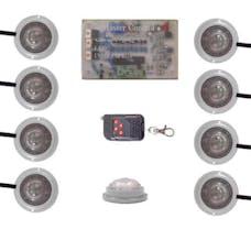 Vision X HIL-STW LED Strobe and Rock Light Kit Superwhite