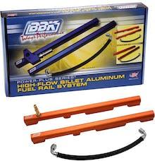 BBK Performance Parts 5019 High-Flow Billet Aluminum Fuel Rail Kit