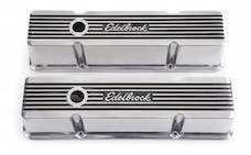 Edelbrock 4263 Elite II Valve Covers for Chevy 262-400 V8 1959-86.
