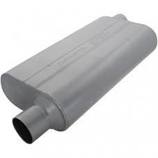 Flowmaster 942553 50 Delta Flow Muffler-2.50 Offset In/2.50 Offset Out-Moderate Sound