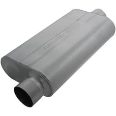 Flowmaster 943051 50 Delta Flow Muffler-3.00 Offset In/3.00 Center Out-Moderate Sound