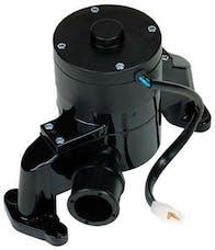 Proform 66225BK Electric Engine Water Pump; Aluminum; Black Powder Coat; Fits SB Chevy Engines