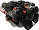 LS 6.0L 470HP EFI Deluxe Crate Engine Package OSS-60470FI-D