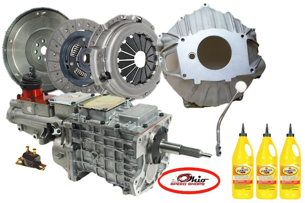 LS 6-Bolt Engines Tremec 5 Speed Transmission Package OSSLS5506TK6