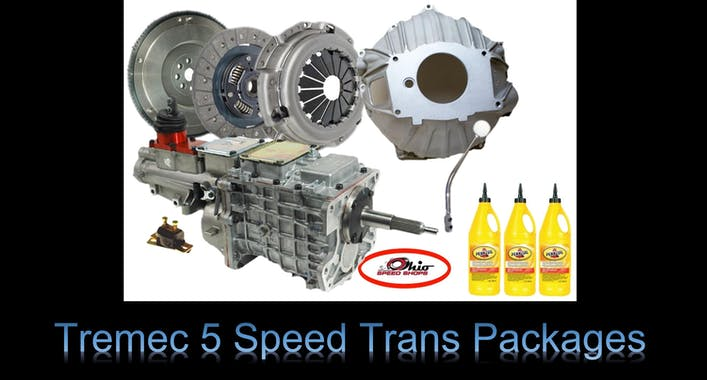 Tremec 5 Speed Packages