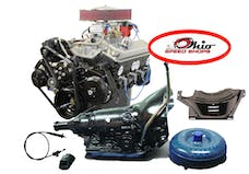 Chevy 350 365HP Deluxe Engine with 700R4 Auto Trans OSS350365K700