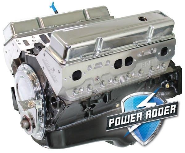 Small Block Chevy 383 440HP Long Block Crate Engine BP38316CT1
