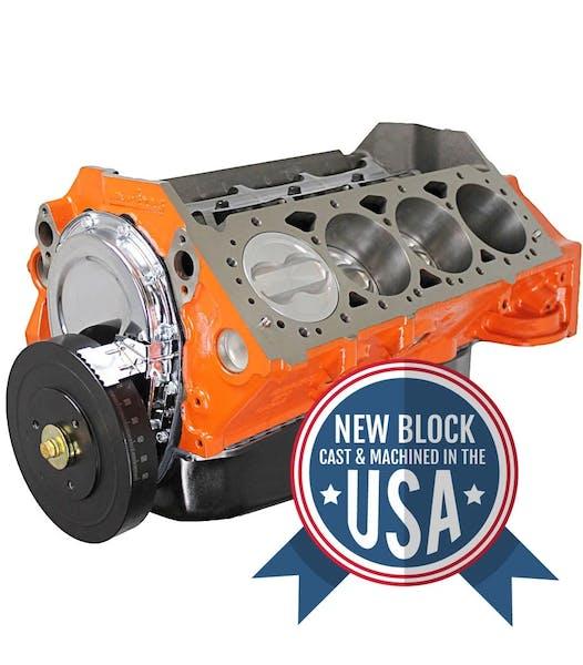 Small Block Chevy 383CID Short Block Engine BP38318SP