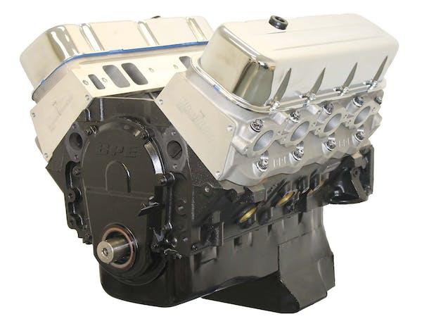 Big Block Chevy 496 561HP Long Block Crate Engine BP49610CT
