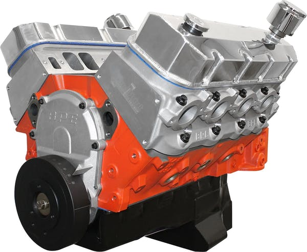 Big Block Chevy 509 640HP Long Block Crate Engine PS5091CT