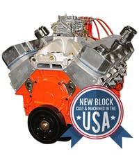Big Block Chevy 509 640HP Crate Engine PS5091CTC