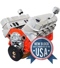 Big Block Chevy 572 745HP Long Block Crate Engine PS5720CT