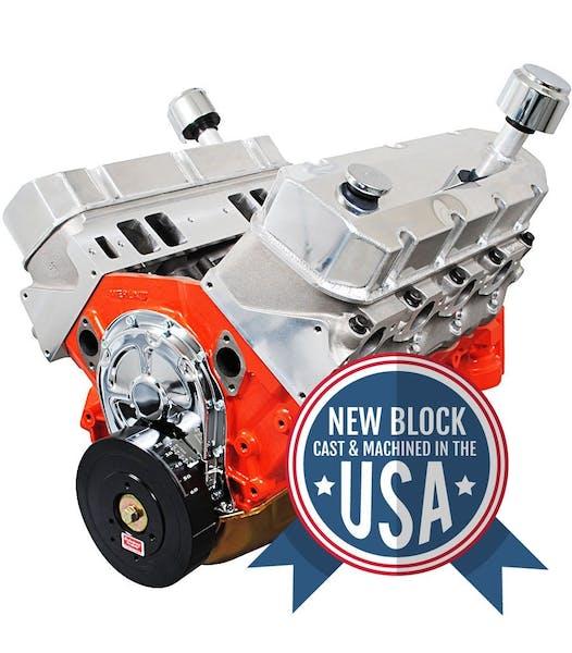 Big Block Chevy 632 815HP Long Block Crate Engine PS6320CT