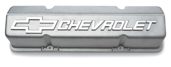 Chevrolet Performance 10185064 Tall Aluminum Valve Covers