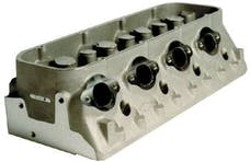 Chevrolet Performance 12480147 Semi-Mach. Splayed-Valve Alum Cylinder Head
