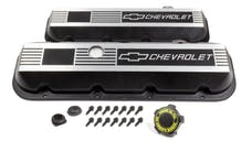 Chevrolet Performance 12495488 BBC Custom Aluminum Valve Cover Set