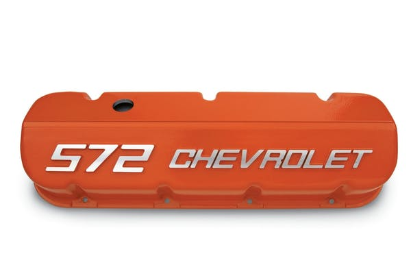 Chevrolet Performance 12499200 BBC Orange 572 Valve Cover Set