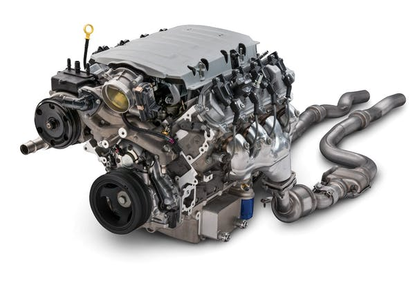 Chevy LT1 455HP E-ROD Wet Crate Engine 12682080