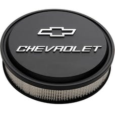 Chevrolet Performance 19351805 Black Low-Profile Bowtie Air Cleaner