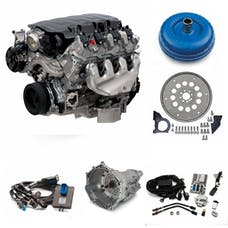 Chevrolet Performance CPSLT14L70ED LT1 460HP Dry Sump with 4L70E Transmission Package
