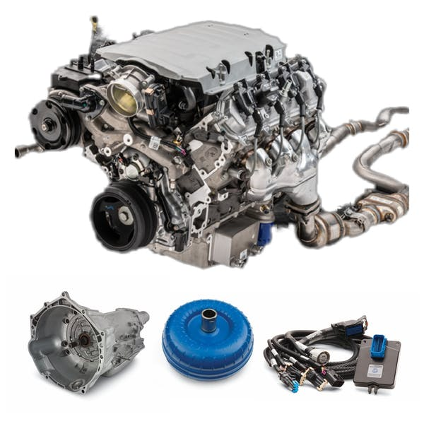 Chevrolet Performance CPSLT1E4L70EW LT1 EROD 455HP with 4L70E Transmission Package