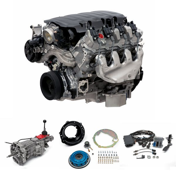 Chevrolet Performance CPSLT1T56D LT1 Dry Sump 460HP with T56 Transmission Package