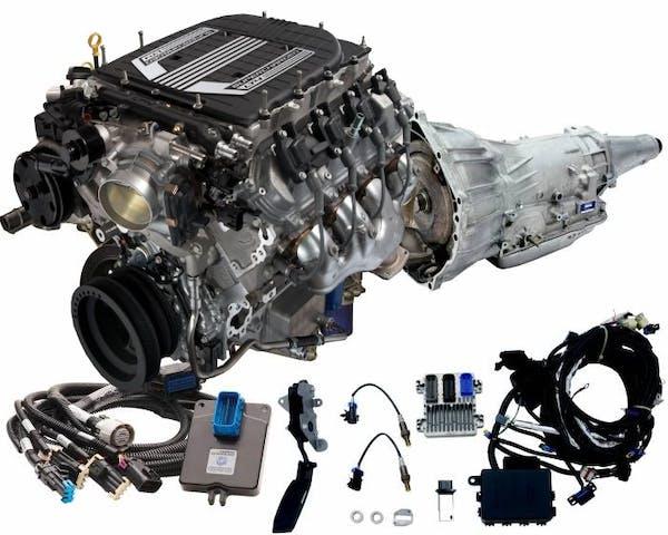 Chevrolet Performance CPSLT44L75EW LT4 650HP with 4L75E Transmission Package