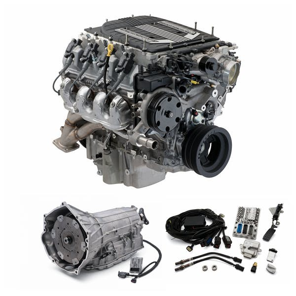 Chevrolet Performance CPSLT48L90EW LT4 640HP Wet Sump with 8L90E Transmission Package