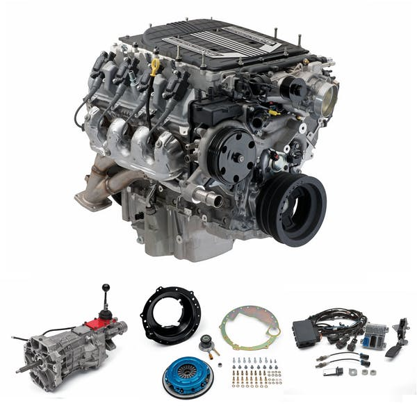 Chevrolet Performance CPSLT4T56W LT4 Wet Sump with T56 Transmission Package