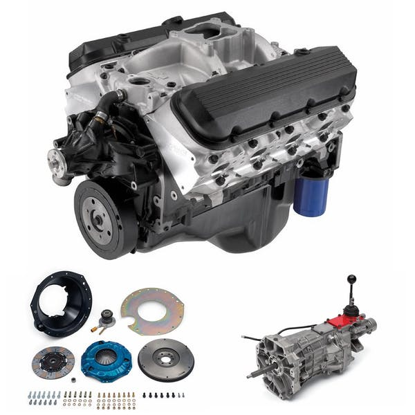 Chevrolet Performance CPSZZ454T56 BBC 454 469HP with T56 Transmission Package
