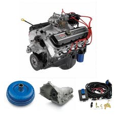 Chevrolet Performance CPSZZ5024L85E ZZ502 with 4L85E Transmission Package