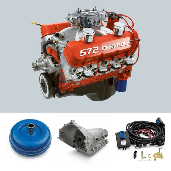 Chevrolet Performance CPSZZ7204L85E ZZ572 720HP with 4L85E Transmission Package
