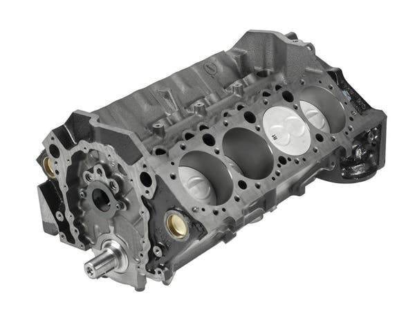 Small Block Chevy 350CID Short Block Engine 12670966