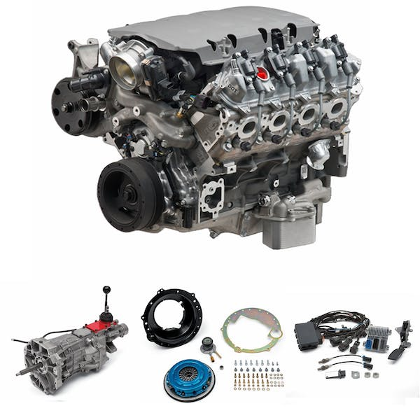 Chevrolet Performance CPSLT1535T56W LT1 535HP with T56 Transmission Package