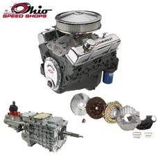 Ohio Speed Shops OSS290HPTK6 SBC 350 290HP with TKO-600 Transmission Package