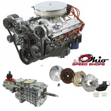 Ohio Speed Shops OSS330HPTK6 SBC 350HO 333HP with TKO-600 Transmission Package