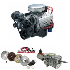 Ohio Speed Shops OSSFB350TK6 SBC SP350 385HP with TKO-600 Transmission Package