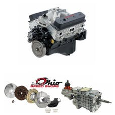 Ohio Speed Shops OSSSP383TK6 SBC SP383 435HP with TKO-600 Transmission Package