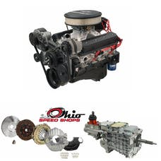 Ohio Speed Shops OSSZZ6TK6 SBC ZZ6 350 405HP with TKO-600 Transmission Package