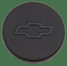 Proform 141-629 Engine Oil Filler Cap; Push-In Style; 1.22 Hole; Bowtie Logo; Black Crinkle