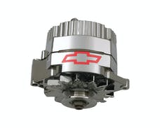 Proform 141-657 Alternator; 100 AMP; GM 1 Wire Style; GM Bowtie Logo; Chrome Finish; 100% New
