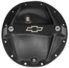 Proform 141-697 Differential Cover; Bowtie Emblem Model; Fits GM 12 Bolt Car; Alum; Blk Crinkle