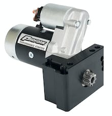 Proform 66267 High-Torque Mini Starter; 2.0KW; Fits Chevy V8; Staggered Bolt Mounting Plate