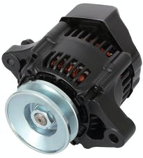 Proform 66432 Mini Alternator; 50+ AMP; 1-Wire Style; V-Belt Pulley; Black Crinkle Finish; 100% New