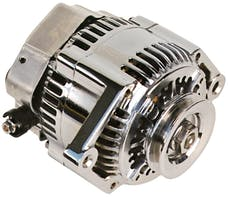 Proform 66439 Alternator-100 AMP; GM Style with Internal Regulator; Chrome Finish; 100% New