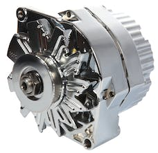 Proform 66445.12N Alternator; 120 AMP; GM 1 Wire Style; Machined Pulley; Chrome Finish; 100% New