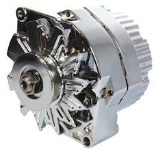 Proform 66445N Alternator; GM 73-86 with Internal Regulator; Machined Pulley; Chrome; 100% New