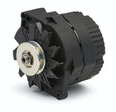 Proform 66448.1N Alternator; 100 AMP; GM 1-Wire Style; V-Belt Pulley; Black Crinkle; 100% New