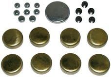 Proform 66550 Brass Freeze Plug Kit; For Small Block Chevy 283-350 Engines; All Sizes Included